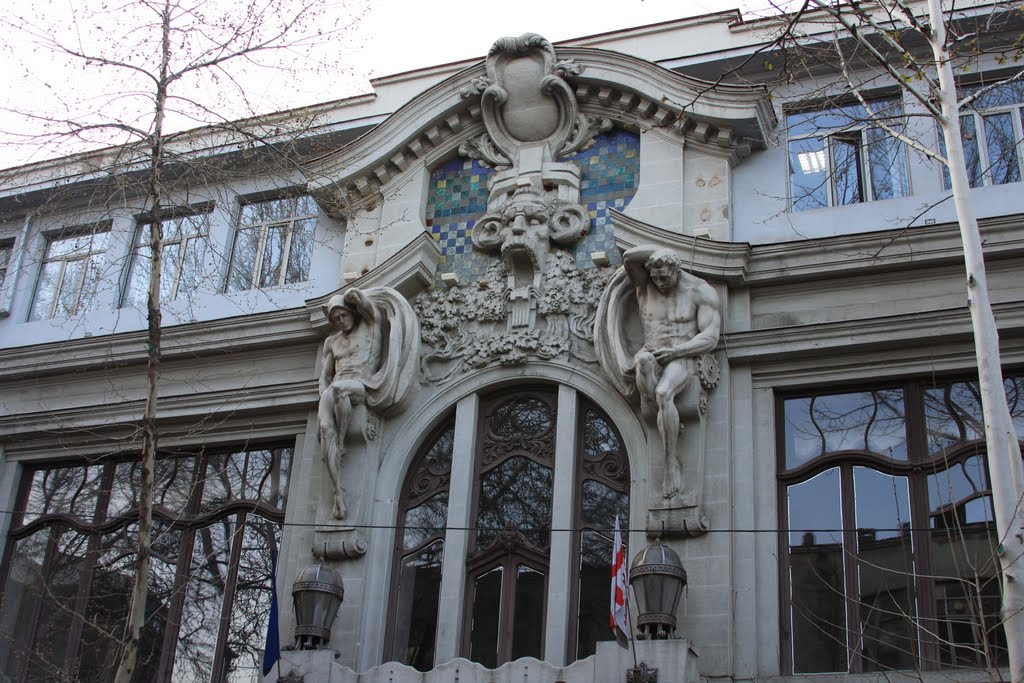 Art Nouveau Spaziergang in Tbilisi